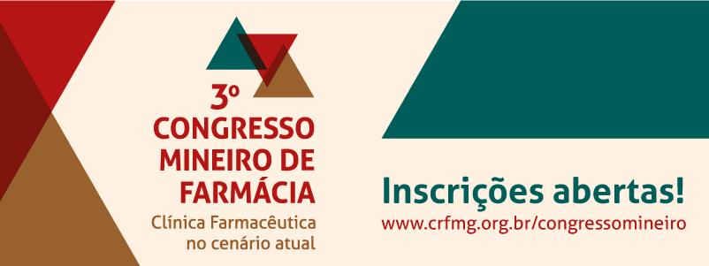 Inscrições abertas para 3º Congresso Mineiro de Farmácia